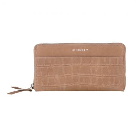 Burkely Croco Caia Wallet L Portemonnee RFID Taupe