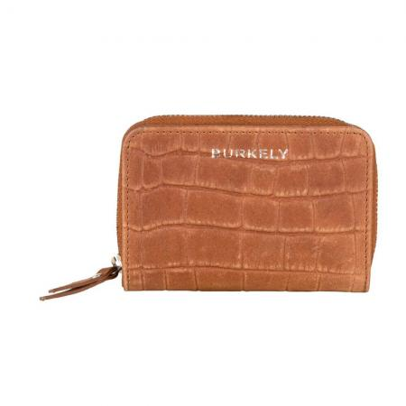 Burkely Croco Caia Wallet S Portemonnee RFID Cognac