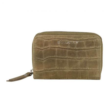 Burkely Croco Caia Wallet S Portemonnee RFID Groen