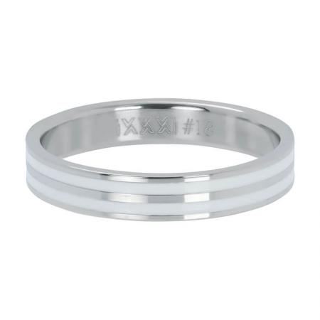 iXXXi Vulring Double Line White Zilver