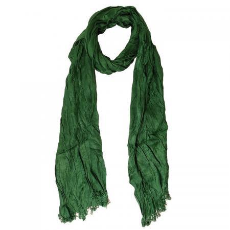 Daspartout Langwerpige Katoenen Sjaal Groen
