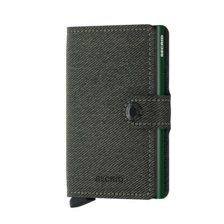 Secrid Mini Wallet Portemonnee Twist Green