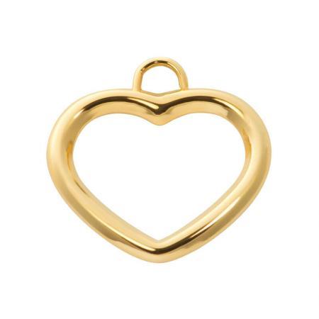 iXXXi Charm Open Heart Goud