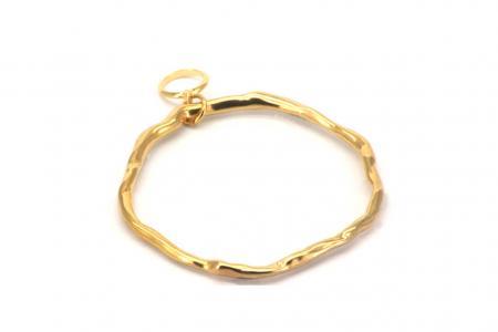 Qoss Kettinghanger Cirkel Goud