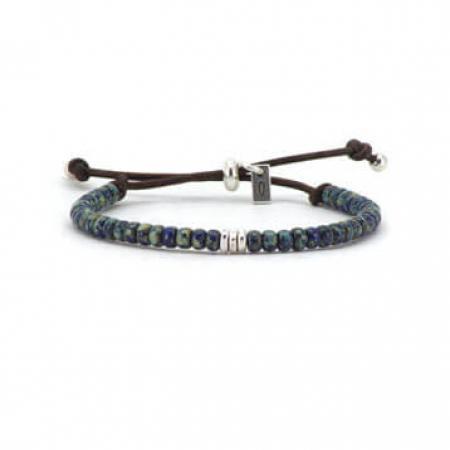 Qoss Kralen Armband Maartje Blauw/Groen