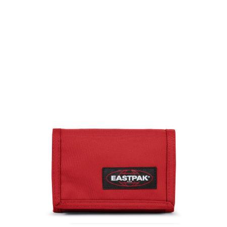 Eastpak Crew Portemonnee met Klittenbandsluitting Apple Pick Red