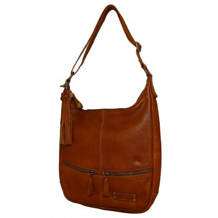 Bag2Bag Schoudertas Yulara Tan Cognac