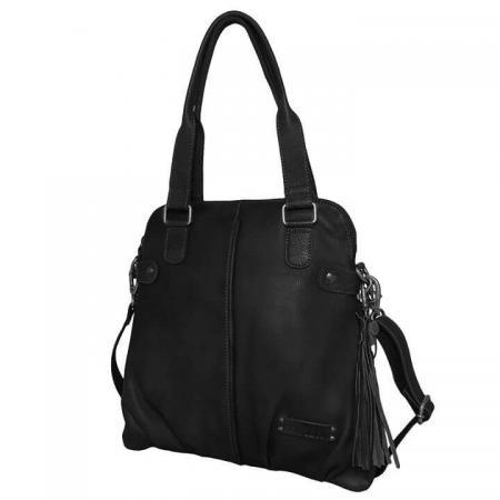 Bag2Bag Shopper / Schoudertas Mildura Zwart