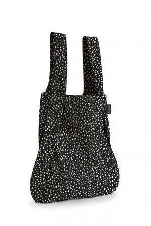 Notabag Rugzak / Shopper Black Sprinkle