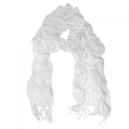 Sjaal Dancing Wit