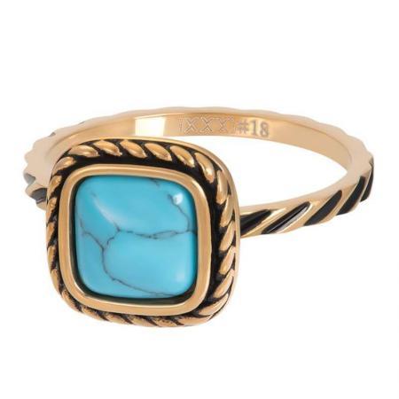 iXXXi Vulring Summer Turquoise Goud