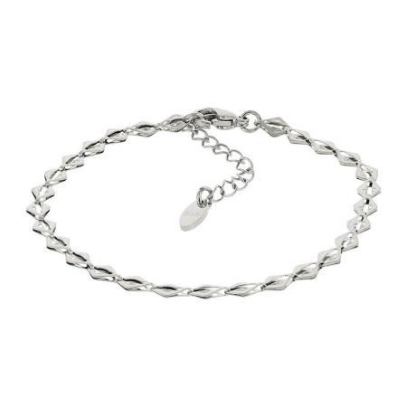 Kalli Armband Ruitvormig Zilver | 2518