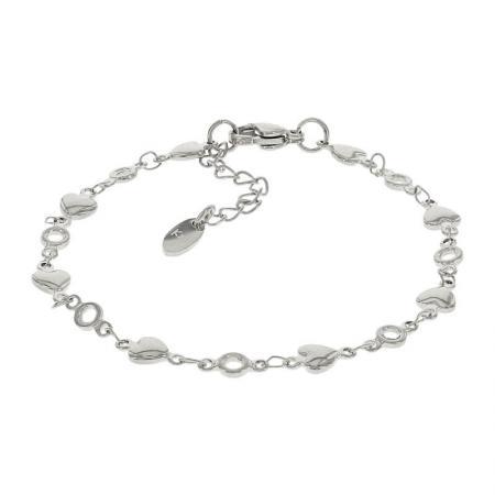 Kalli Armband Hartjes Zilver | 2548