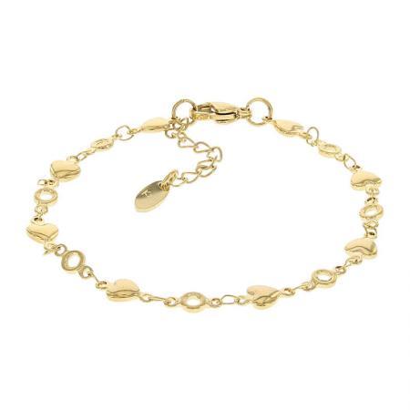 Kalli Armband Hartjes Goud | 2548