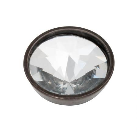 iXXXi Top Part Pyramid Crystal Zwart