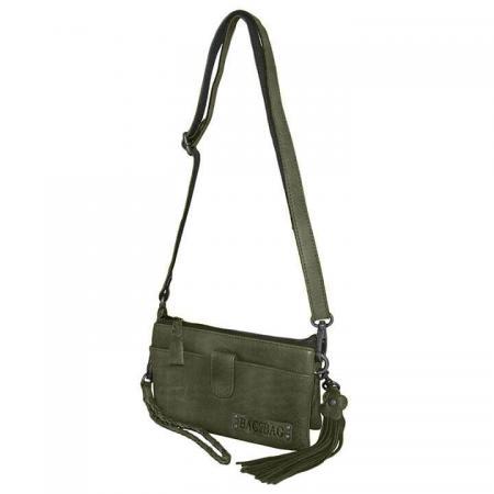 Bag2Bag Schoudertas / Clutch / Portemonnee Dover Olijf