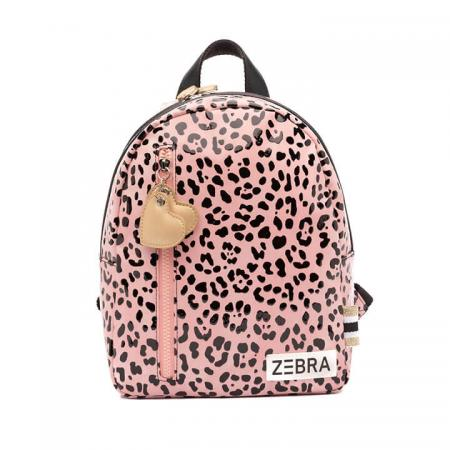 Zebra Trends Girls Rugzak Pink Spot
