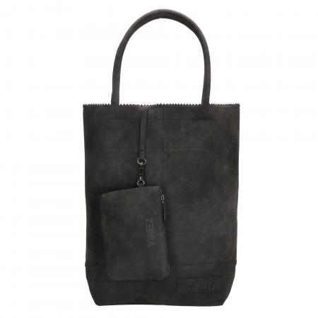 Zebra Trends Shopper met Etui Natural Bag Kartel Fearless II Zwart
