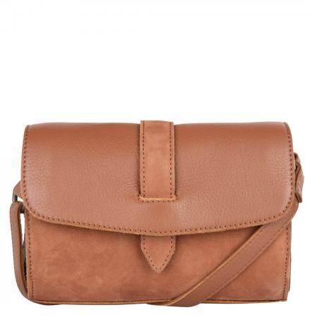 Cowboysbag Crossbody Schoudertas Bag Morven Caramel