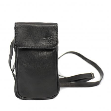 Bear Design Phone Bag Ahana Telefoontasje Zwart