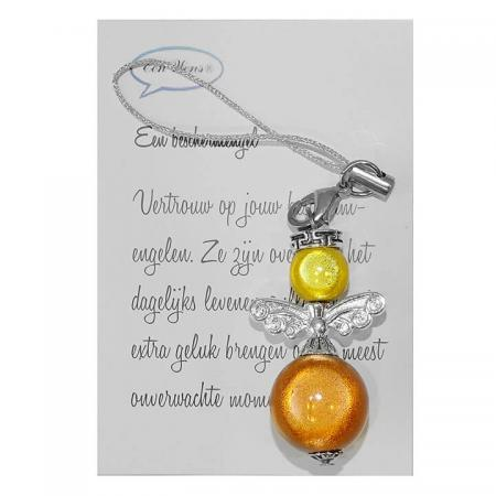 Kleine Beschermengel Oranje/Geel