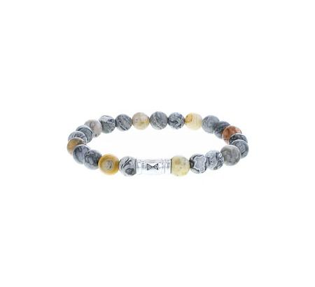 AZE Jewels Armband Mount Marble | 8mm