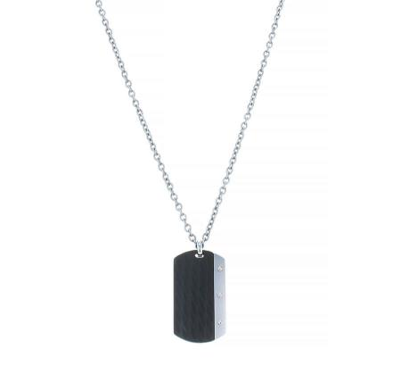 AZE Jewels Ketting Necklace Dogtag Inox