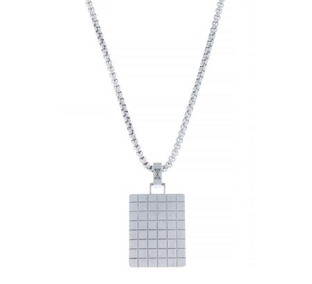 AZE Jewels Ketting Necklace Square Indentity