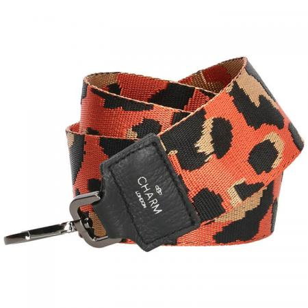 Charm London Schouderband Camouflage Oranje