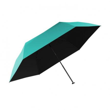 Knirps Paraplu Ultra Light Slim Turquoise with Black
