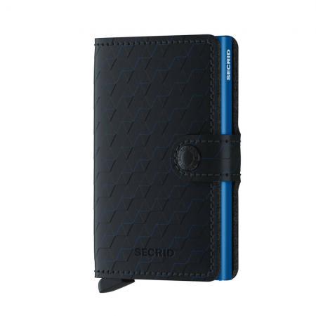 Secrid Mini Wallet Portemonnee Optical Black