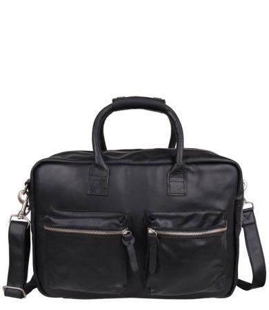 Cowboysbag Schoudertas The College Bag 15.6'' Zwart