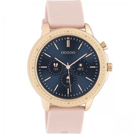 OOZOO Smartwatch Rubber Roze/Rosé Goud | Q00324
