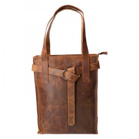 Revival by Leather Design Shopper Hunter Bruin
