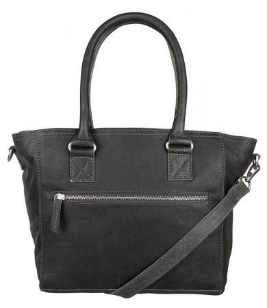 Cowboysbag Schoudertas/Handtas Bag Hill Dark Green