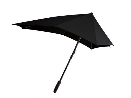 Senz Smart Line Stormparaplu Black Out-0