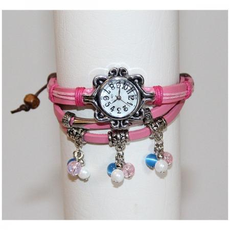 Medley Horloge Lichtroze 342014-0