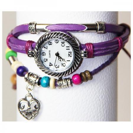 Medley Horloge Lila 342005-0