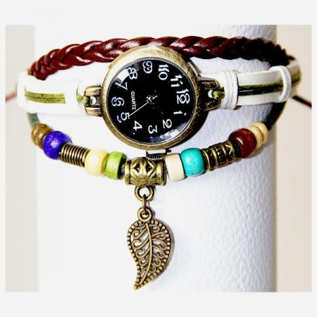 Medley Horloge Wit 342006-0