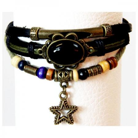 Medley Down Under Armband Onyx Steen-0