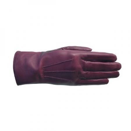 Laimböck Dames Handschoenen London Rood Maat 8 25092-0