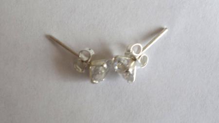Swiss Zirkonia Oorbel Rond 5 mm-4114
