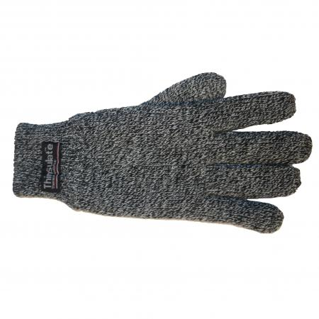 Thinsulate Handschoenen Gemêleerd Zwart/Grijs S/M-0