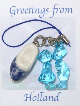 Holland Sleutelhanger Licht Blauw-0