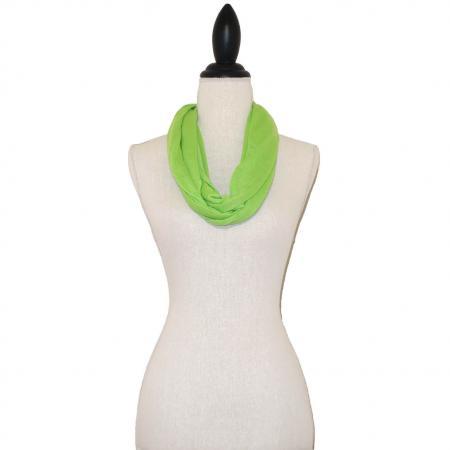 Lime Groene Tricot Colsjaal-0