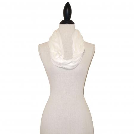 Gebroken Witte Tricot Colsjaal-0