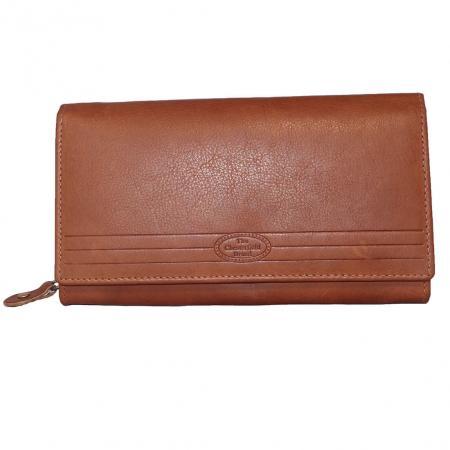 Chesterfield RFID Overslag Portemonnee Cognac-11281