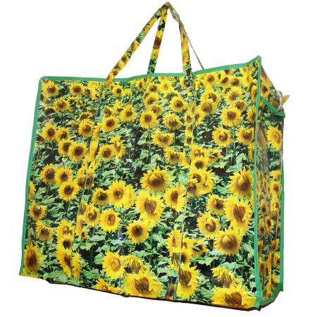 boodschappentas zonnebloemen, boodschappentassen, boodschappentassen kopen
