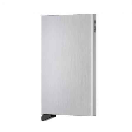 Secrid Cardprotector Kaarthouder Brushed Silver -0