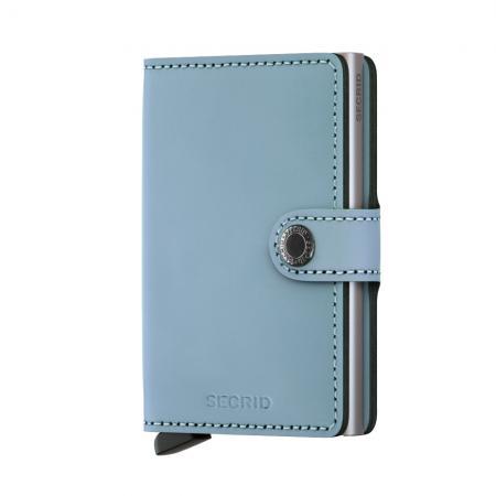 Secrid Mini Wallet Portemonnee Matte Blue-0